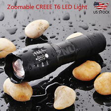Tactical 10000 Lumen T6 LED Flashlight Torch Light 5 Modes for Hunting, Camping