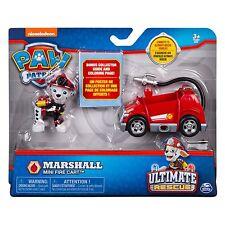 Paw Patrol Ultimate rescate Marshall Mini Figura De Carro De Bomberos Para Niños Juguete Juego de las crías