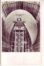 uralte Photo-AK Zeppelin LZ 130 in Bau Luftschiffbau mit Zeppelin-Stempelung!!!!