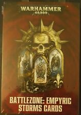 Warhammer 40k Battlezone Empyric Storms Cards NEW Gathering Storm Fall of Cadia