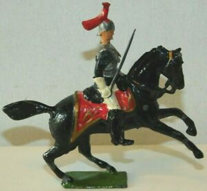 Old BRITAINS 1950s Lead, Horse Guards Officer Mounted, Picture Pack Set #281B #B
