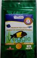 NORTHFIN VEGGIE FORMULA PREMIUM FISH FOOD 100 GRAM 2 mm PELLET  FREE SHIPPING