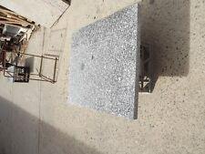 Granite small slab polished top 33mm thick 700x552mm. $140