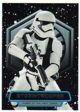 2016 Topps Star Wars Force Awakens Ser 2 Power of the First Order 5 Stormtrooper