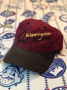 Vintage Washington Redskins Snapback Hat Logo 7 NFL Cap Adjustable HTTR VTG