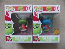 Funko POP! THE GRINCH as SANTA With Common Green or Chase Blue Variant #12