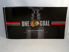 2015 Chicago Blackhawks ALL PLAYOFF & STANLEY CUP TIX Unused Season Ticket Book