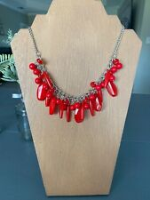 Red paparazzi necklace set