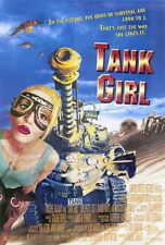 TANK GIRL Movie POSTER 27x40 B Lori Petty Malcolm McDowell Ice-T Naomi Watts