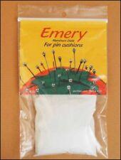 Fine Grain White Emery Powder for Pincushions Stuffing 4 oz. Bag