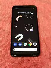 New listing Google Pixel 4 64Gb Just Black G020I (Unlocked) Gsm World Phone Vg526