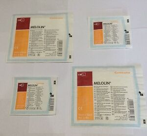 Melolin Cushioned Dressing Pads