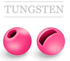 🎣NEU🎣TUNGSTEN Perlen/Beads, FLUO, Pck. 10 St., 3,0 mm, geschlitzt/slotted