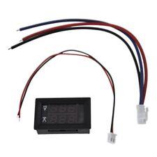 DC 100V 10A Voltmeter Amperemeter Blau + Rot LED Amp Dual Digital Volt Mete D4T1