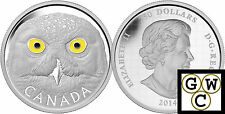 2014 Kilo Silver-In The Eyes of the Snowy Owl $250 Coin 9999 Fine *No Tax(13845)