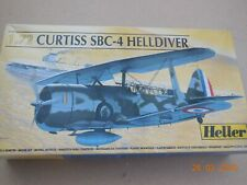 A Heller  Curtiss SBC-4 HELLDIVER,  Boxed