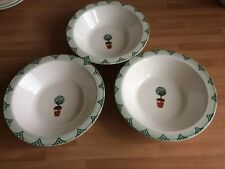 Arthur Wood Hand Decorated Bowls  x 3