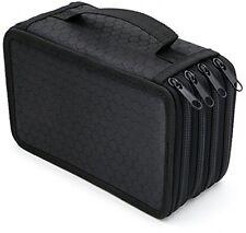 Hipiwe 72 Inserting Portable Large Capacity Multi-layer Pencil Case Holder Bag