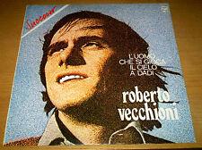 Roberto VECCHIONI L'uomo che si gioca il cielo a dadi LP Philips 1973 ristampa