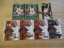(7) 2007-08 UPPER DECK KEVIN DURANT ROOKIE LOT SUPERSONICS THUNDER NETS ST4602