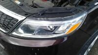 Driver Left Headlight With LED Accents Halogen Fits 14-15 SORENTO 1381114