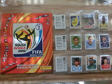 Panini World Cup 2010 Coupe du monde 10 * Ensemble Complet Complete Set * EMPTY ALBUM