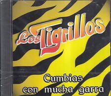Los Tigrillos Cumbias Con Mucha Garra CD New Nuevo sealed