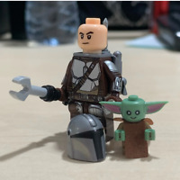 Mandalorian W Baby Yoda Minifigures Rise Of Skywalker Star Wars 9 Lego MOC 2020
