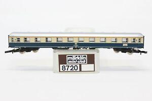 Z Scale Marklin 8720 DB 1st Class Beige & Blue Passenger Coach Car LNIB