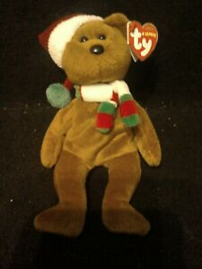 Ty Beanie Baby Holiday Teddy Bear 2008 Tagged