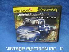 GraphicAudio - Marjorie Trumaine Mystery 1: See Also Murder - Audiobook CD Mint
