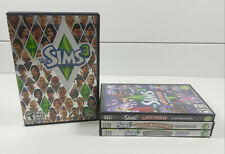 The Sims 3 + The Sims 3 Lot of (3) Expansion Pack /Stuff Games WIN/ MAC/ DVD-ROM