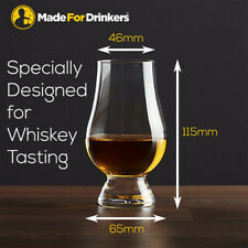 Whiskey Tasting Glasses (Box of 6) - Nosing Glasses by MadeForDrinkers Singapore