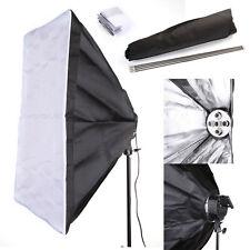 60x90cm Studio Light Photography Softbox Umbrella Fr 5 Socket E27 Lamp Bulb Head