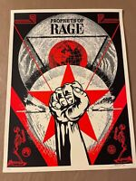 Shepard Fairey Obey Giant Prophets Of Rage Art Print Poster