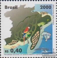 Brasilien 3028 (kompl.Ausg.) postfrisch 2000 Küstenentwicklungsprogramm