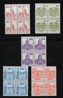 Berlin 673 - 677 VB, 1982, B & S,  je Viererblock xx #n659