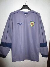 VINTAGE Maillot goal ECOSSE FILA shirt SCOTLAND gardien XL boy = S SFA collector