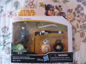 STAR WARS ROSE FIRST ORDER DISGUISE, BB-8, & BB-9E FORCE LINK 2.0 PACK