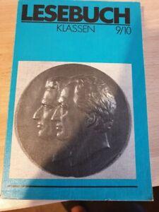 Schulbuch aus der DDR , Lesebuch Klasse 9/10 ,   Verlag Volk und Wissen