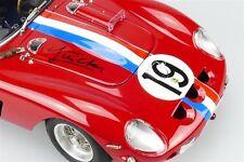CMC 1:18 Ferrari 250 GTO, LeMans Class Winner 1962, Jean Guichet Autographed!!