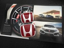 GENUINE OEM HONDA 2017 CIVIC TYPE R FK8 FRONT AND REAR H RED EMBLEM