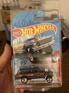 2020 Hot Wheels 174/250 '64 Nova Wagon Gasser MUSCLE MANIA 2/10 - WALGREENS BLUE