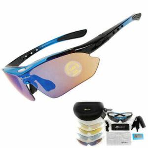 Rockbros Cycling Sunglasses Polarized Goggles Photochromatic Glasses Eyewear New