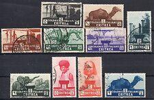 COLONIA ERITREA  1933 SERIE USATA