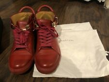 Buscemi Red 18KT gold Sneakers Size 41