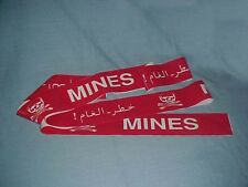Gulf War Military Police Mine Field Tape (half price sale)