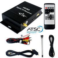 Car Mobile ATSC Terrestrial TV Receiver Tuner Freeview HD/SD Digital FTA Channel