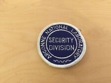 argonne national laboratory  security division  patch, now, 1970's