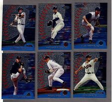 2000 FINEST COMPLETE 287 card SET w/ REFRACTORS, GOLD, INSERTS